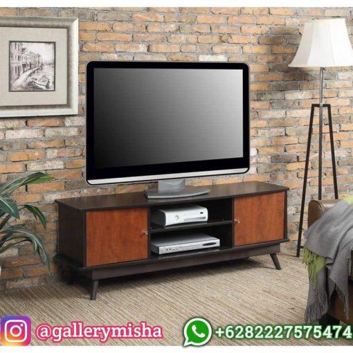 Bufet TV Jati Jepara Retro