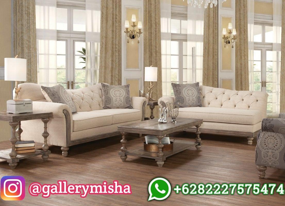 Set Kursi Sofa Ruangan Tamu